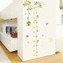 Kids Growth Chart Height Measure Wall Stickers Children Nurs
