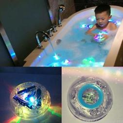 Children LED Toy Light-up Kids Bathing Toys Toddler Durable