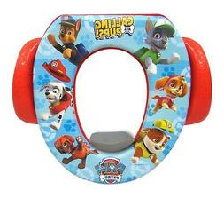 Kids Potty Training Toilet Seat Padded Soft Ring Toddler Boy