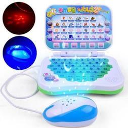 Kids Pre School Educational Learning Study Toys Laptop Compu