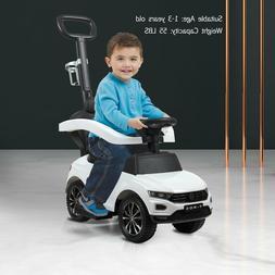 Kids Ride On Push Car Baby Foot To Floor Stroller w/Handle C