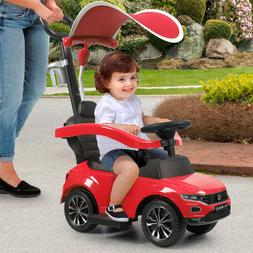 Kids Ride On Toy Push Car Foot To Floor Stroller Baby Toddle