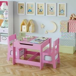 Kids Table and Chairs Set Toddler Child Toy Activity Desk St