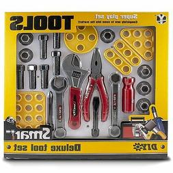 Kids Tool Set - Toy Wrench and Screwdriver Kit for Kids - Gr