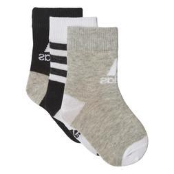 Adidas Kids Training Ankle Socks 3 Pairs Lifestyle Infant DW