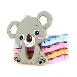 Koala Kid Baby Teether Chewable Teething Toy Silicone Pendan