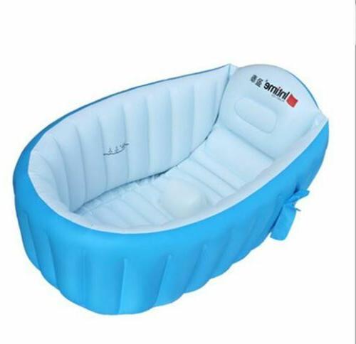 0-3 Years Baby Inflatable Bathtub PVC Thick Portable Bathing