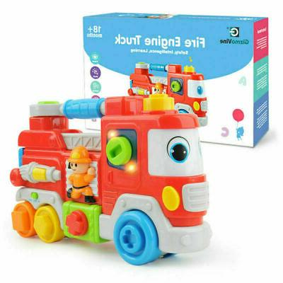 1 16 fire engine truck learning sound