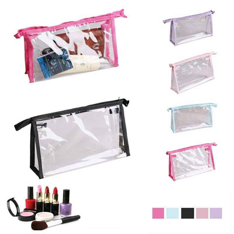 1 x Transparent Cosmetic Bag Care Bathroom Storage Bag
