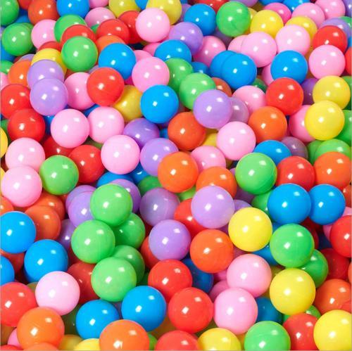 200pcs 7cm Fun Soft Plastic Ocean Ball Swim Pit Toys Baby Ki