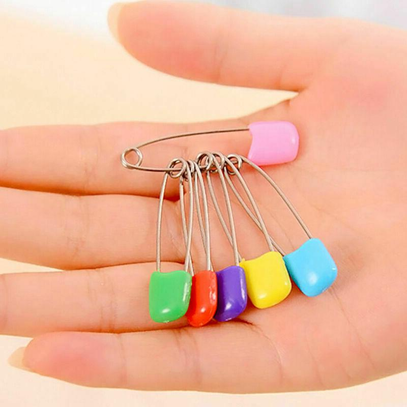 100 Pcs Safety Diaper Craft Pins