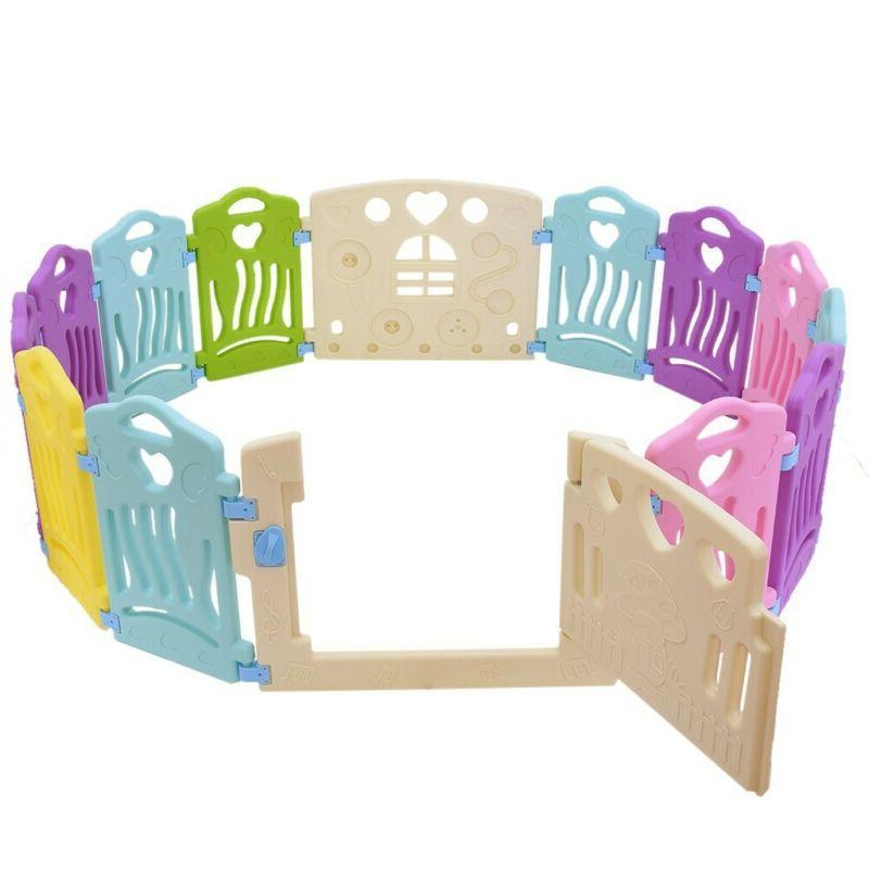 Baby Activity Center-14 Panel Safety Yard -Indoor, US