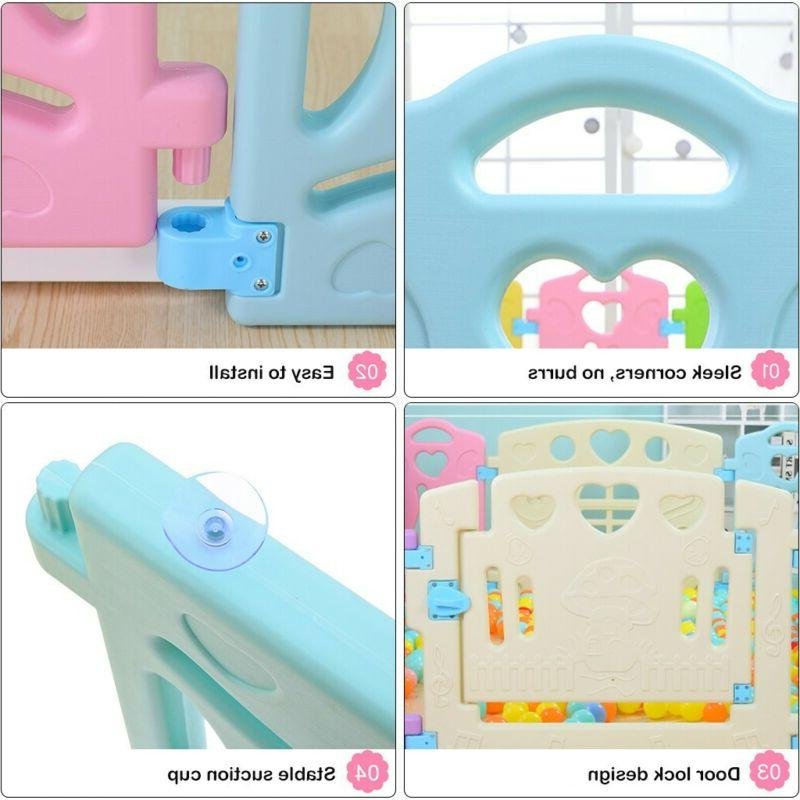 Baby Playpen Center-14 Safety Play Yard US