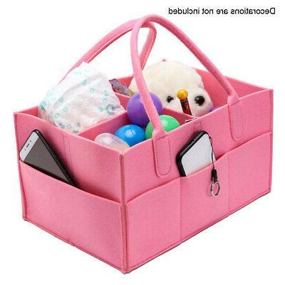 US! Baby Kids Diaper Nappy Mummy Nursery Changing Bag Basket
