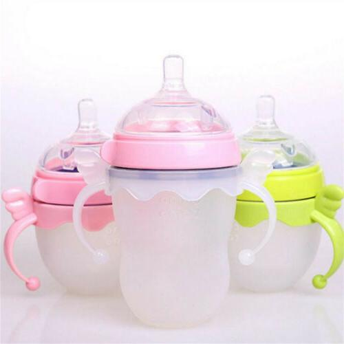 1x Plastic Baby Standard Handle Easy For Bottle