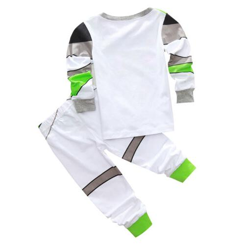 Toddler Toy Buzz Woody Sleepwear Outfit