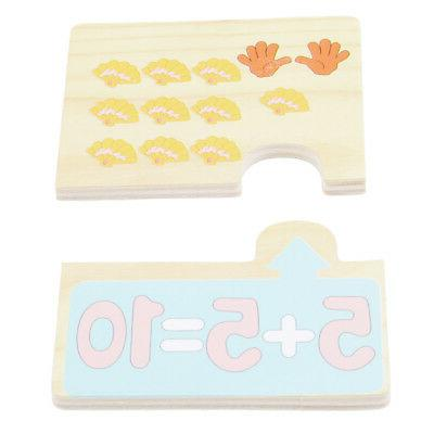 20pcs Baby Wood Toy Number Math Learning Gifts