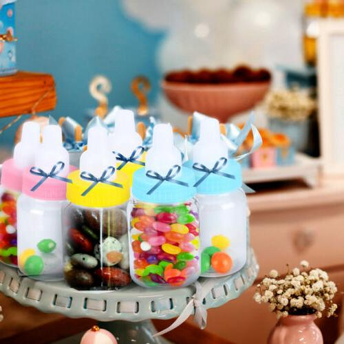 24 Plastic Baby Party Bottles