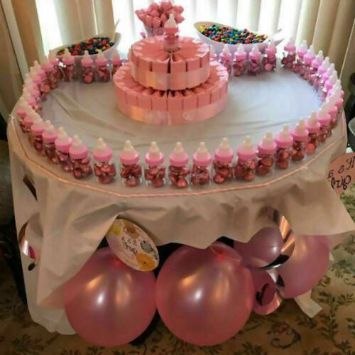 24 Baby Birthday Decorations Bottles