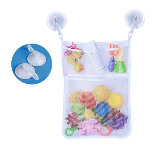 2Pcs Toys Clothes Bath Wall Mesh