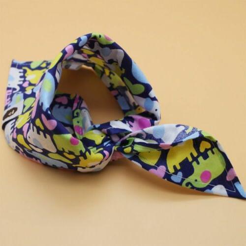 2pcs Fashion Bibs Dribble Baby Scarf