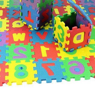 36 Foam Baby Kids Mat Alphabet Toy Gift CA