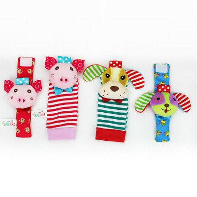 4Pcs/Set Baby Toy Dog Bell and Socks