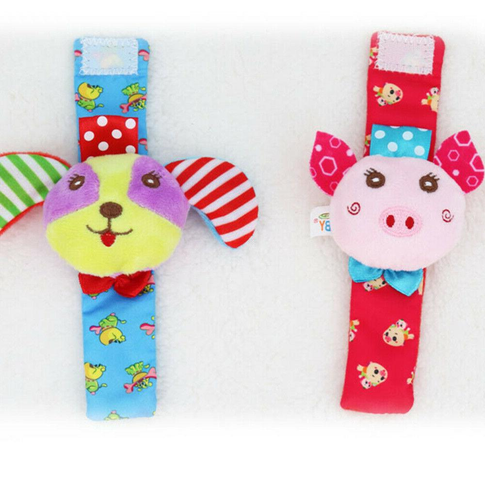 4Pcs Wrist Bell Toys Cute Durable Delicate Portable Bell Soc