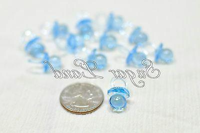 48 Pacifiers Baby Shower Favors Clear Party Decor