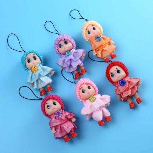 5Pcs Toys Interactive Baby Toy Mini Girls and