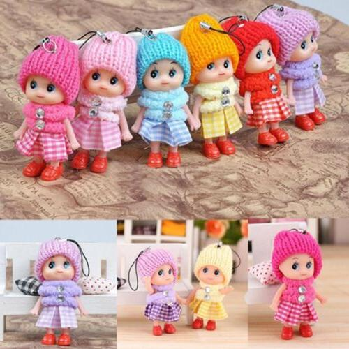 5pcs kids toys soft interactive baby dolls