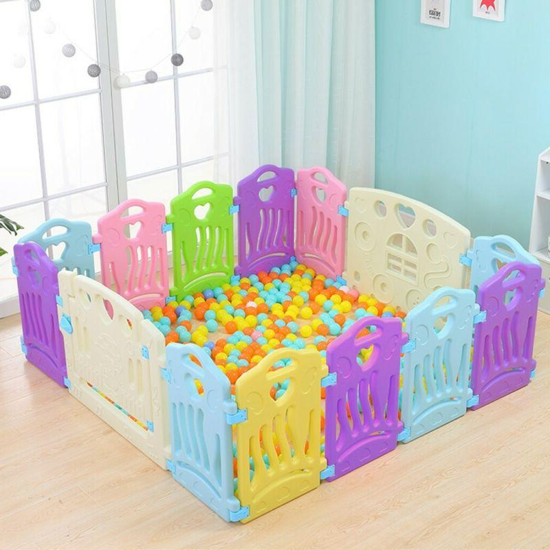 Baby Play Fence Children Activity Center Security Convenient