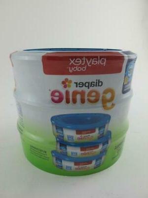 810 Diaper Genie 3 x with Odor Lock