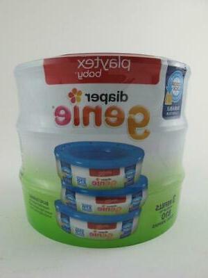 810 qty playtex new diaper genie refill