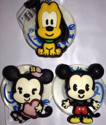 JIBBITZ DISNEY Mickey Minnie Pluto Baby Tsum CROC RUBBER SHO