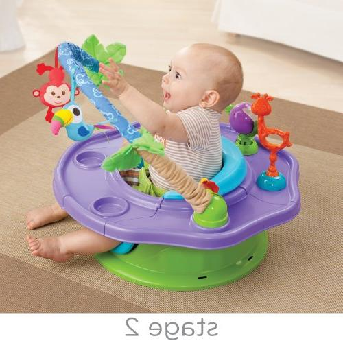 Summer Infant 3-Stage Deluxe Giggles Island: Activity Seat, Neutral