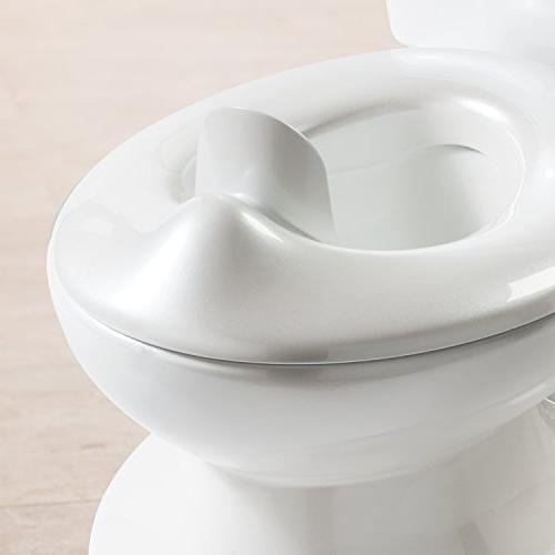 Summer My Size Potty - Toilet for Toddler Girls with Flushing Sounds and Wipe Dispenser