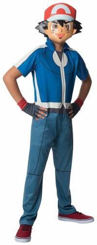 Ash Pokemon Nintendo Video Game Toy Fancy Dress Up Halloween