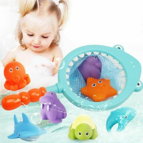 Baby Bath Toys for Toddlers Tub Shark Fishing Pond Plastic A