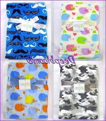 baby blanket crib boys girls cheetah camo