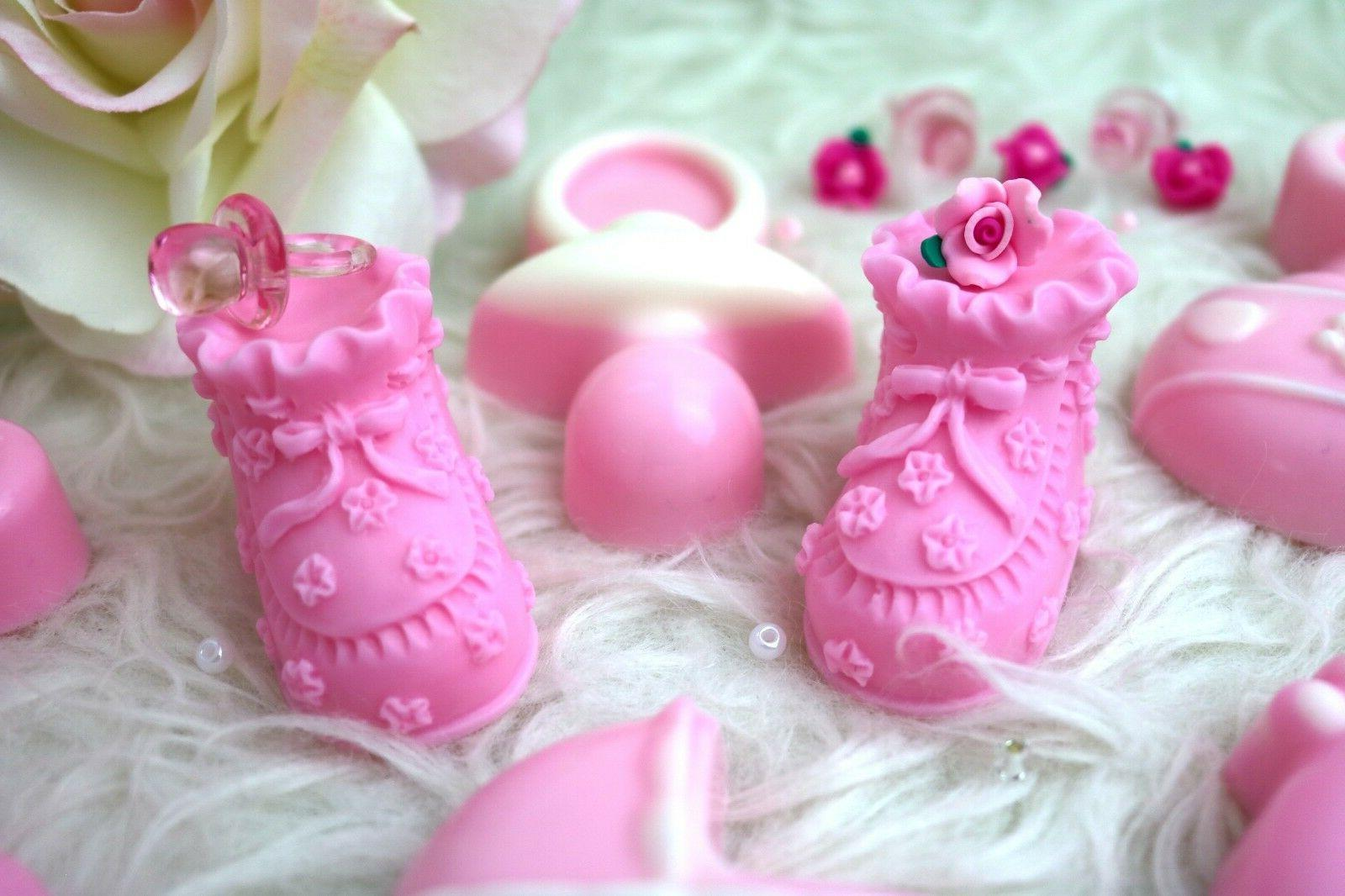 Baby BOOTIE SOAPS Favors, Little Shoe Soap Favors,Birthday F
