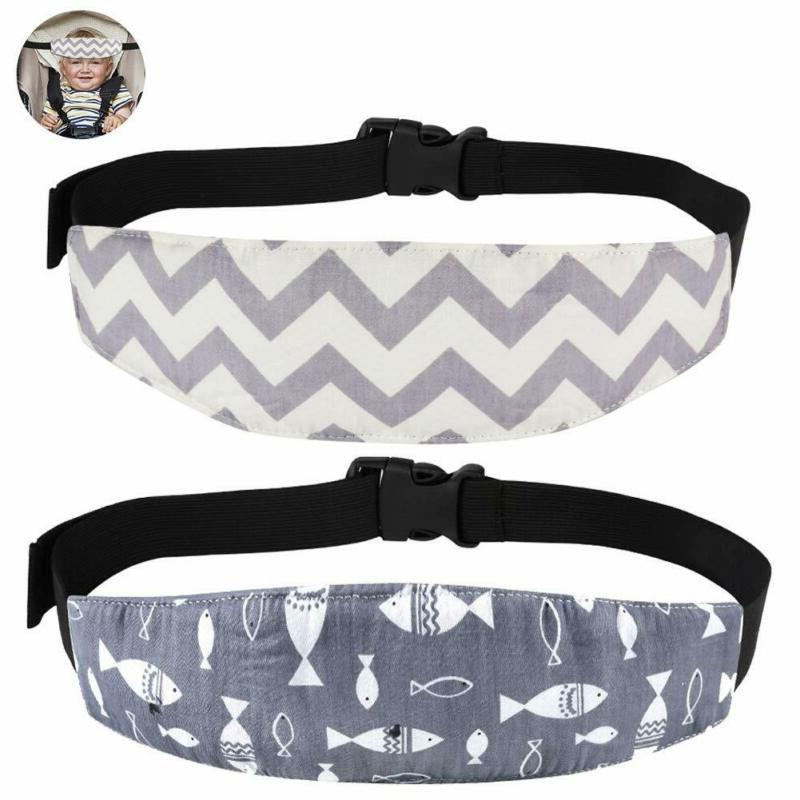 Accmor Baby Carseat Head Support Band Strap 2 Pack for Carse