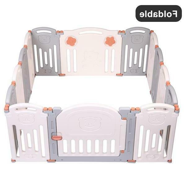 Baby Folding playpen Kids Activity Centre Safety Play Yard H