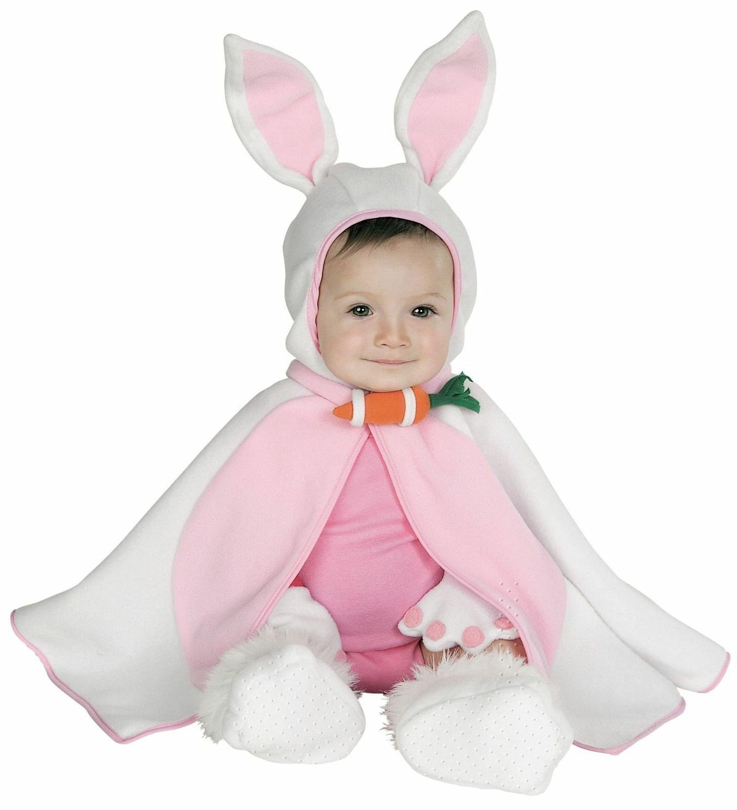baby infant girls cute bunny rabbit costume