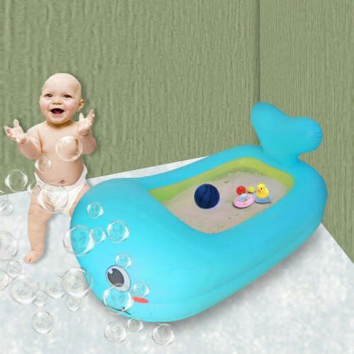 baby inflatable bathtub infant toddler bathing tub
