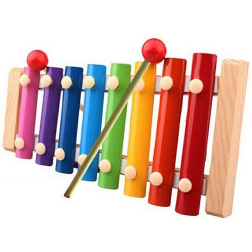 Baby Piano Xylophone Wisdom Wooden Instrument