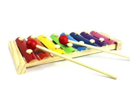 Baby Toys Piano Xylophone Wisdom Development Wooden