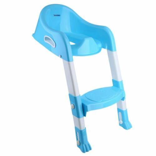 Folding Baby Potty Training Seat Chair Step MY