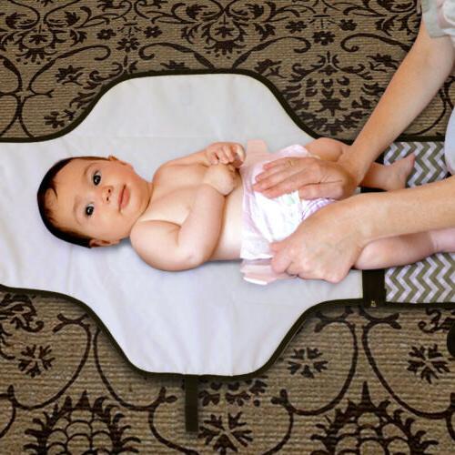 Baby Portable Folding Diaper Waterproof Foldable Mat