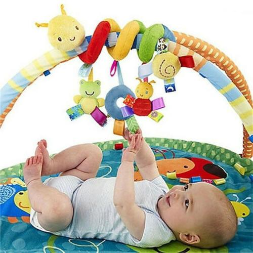Baby Toy Newborn Rattles Stroller Car Bed Hanging Educationa